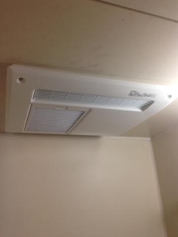浴室暖房乾燥機の取替え工事