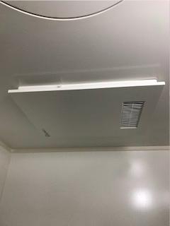 浴室乾燥暖房機の取替