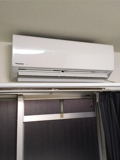 エアコンの標準取替え工事!