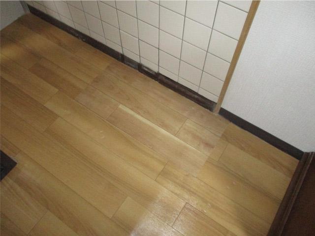 床下配管漏水補修工事