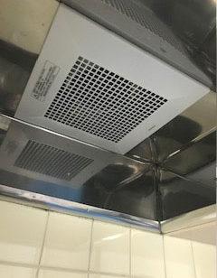 台所換気扇お取替え工事後