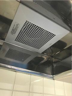 台所換気扇お取替え工事