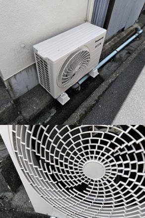 エアコン室外機移設工事