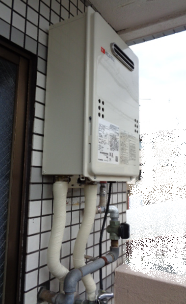 給湯器取替工事 ~保温材は大切です~